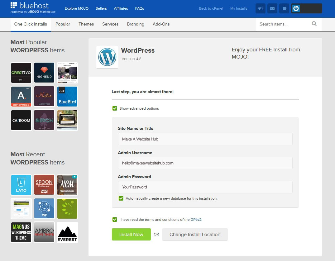wordpress-install-last-step