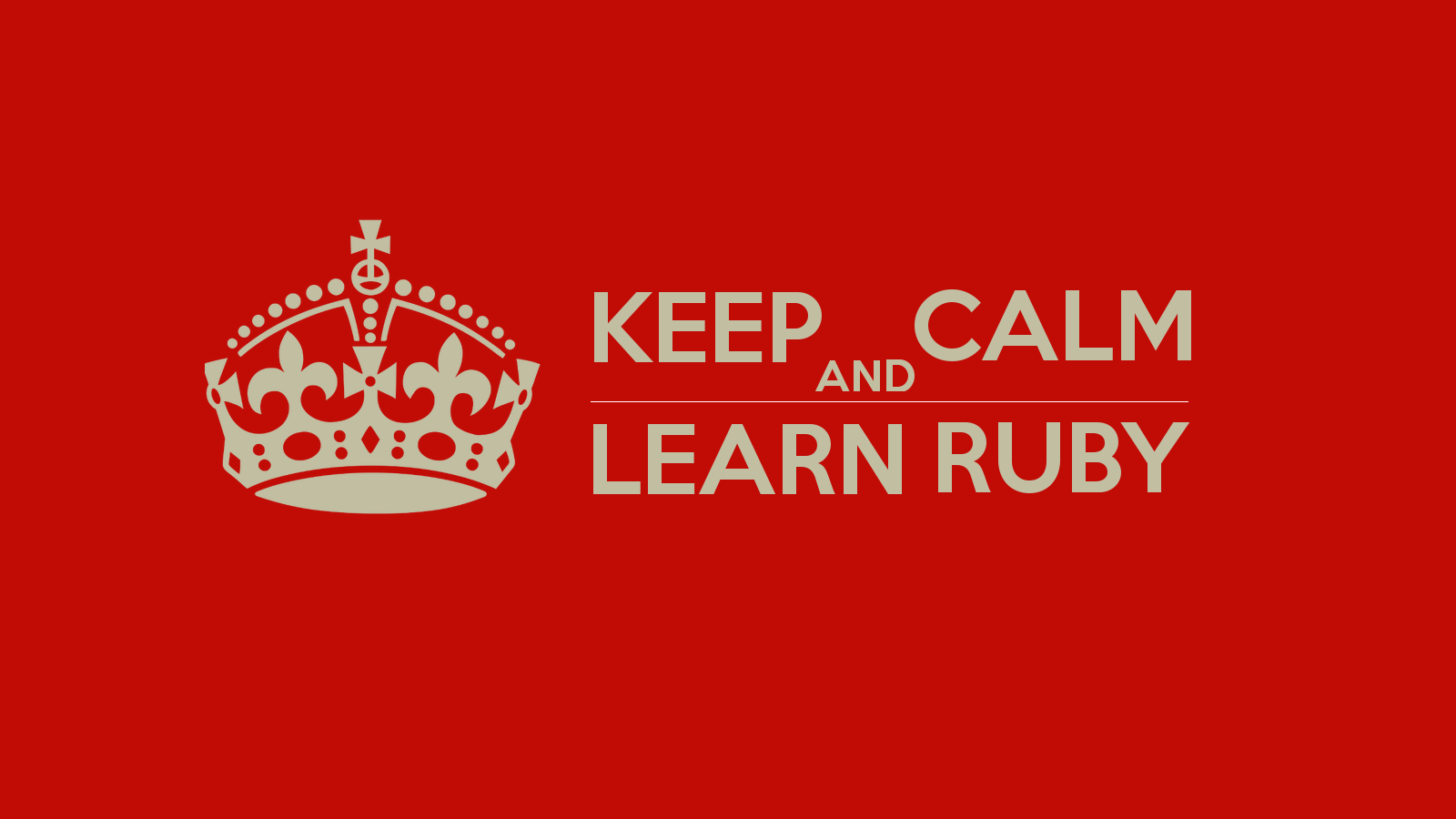 The best resources to learn ruby make a website hub the best resources to learn ruby baditri Images
