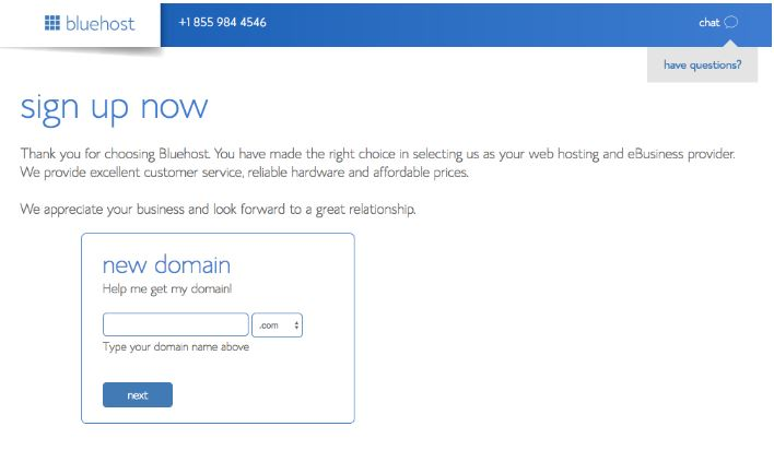 bluehost-best-domain-registrars