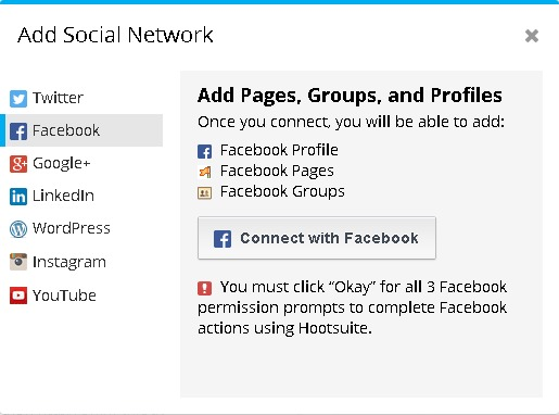 Authorization facebook