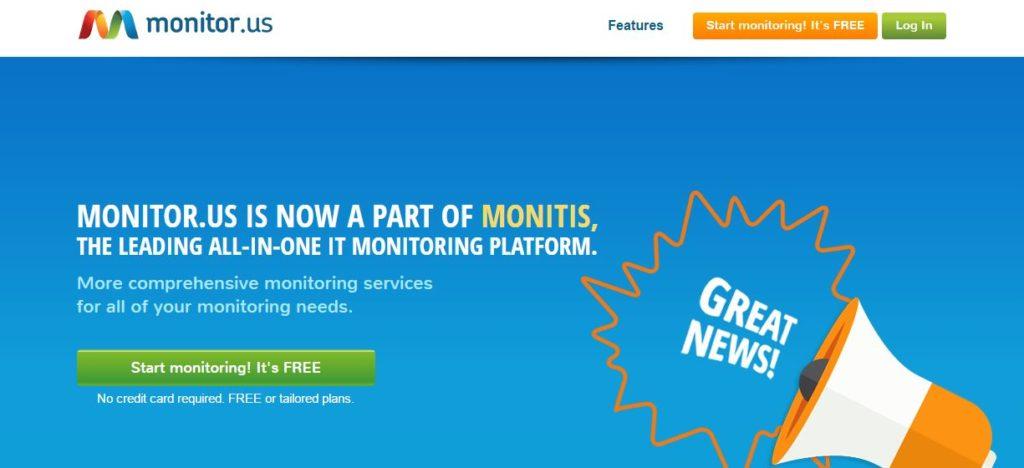 monitorus web monitoring