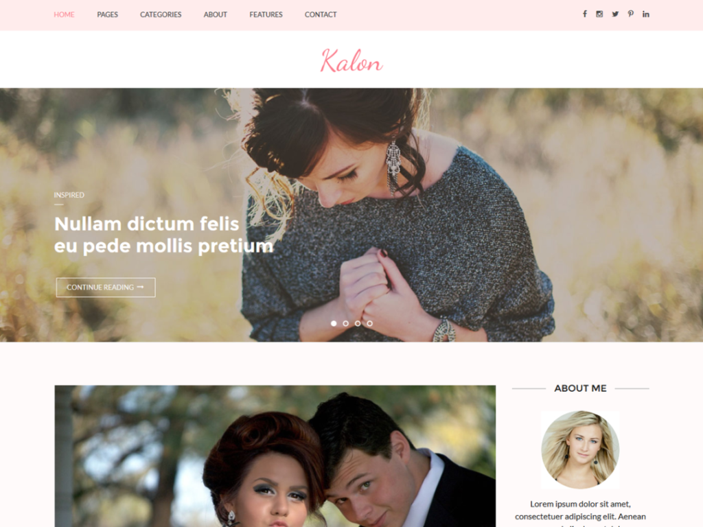 kalon-wordpress-theme-photography