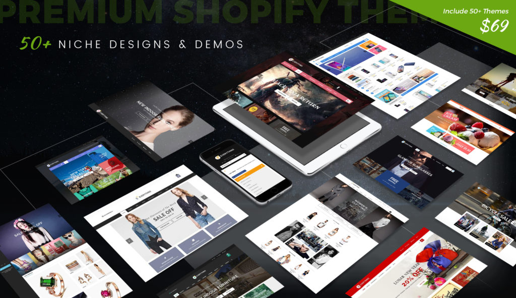 Shopify Themes Multi Purpose Ecommerce Templates By