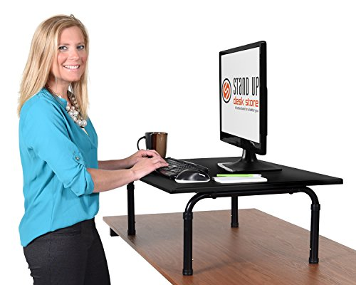 Desktop Desk Proves That You Don T Need A Large Budget To Have An Excellent Standing This Has Wide 32 Inch Surface Area