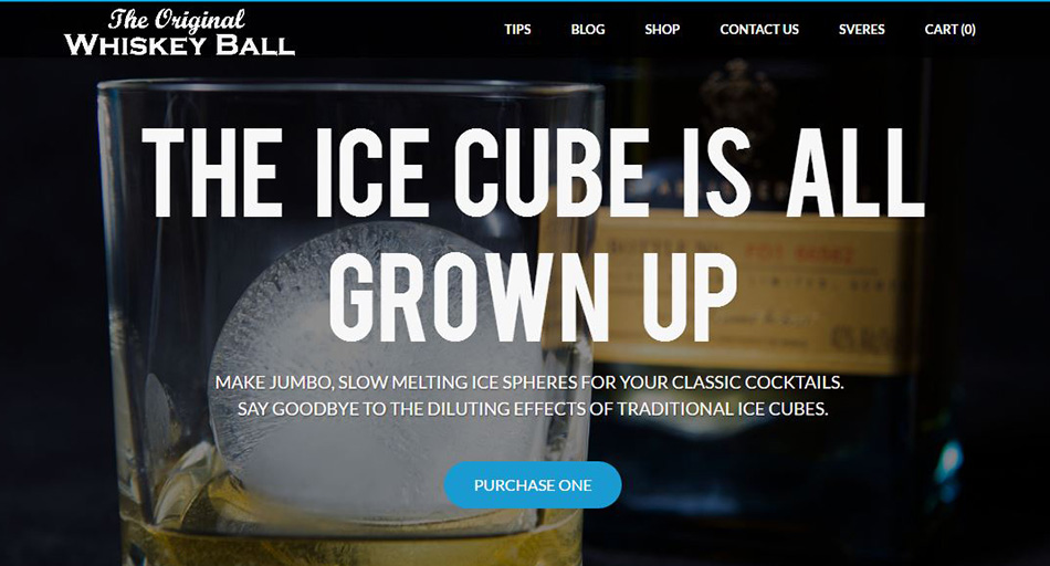 Whiskey-ball-weebly website example