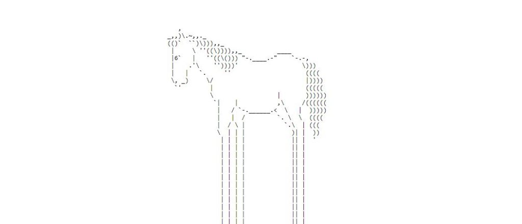 weird websites endless horse