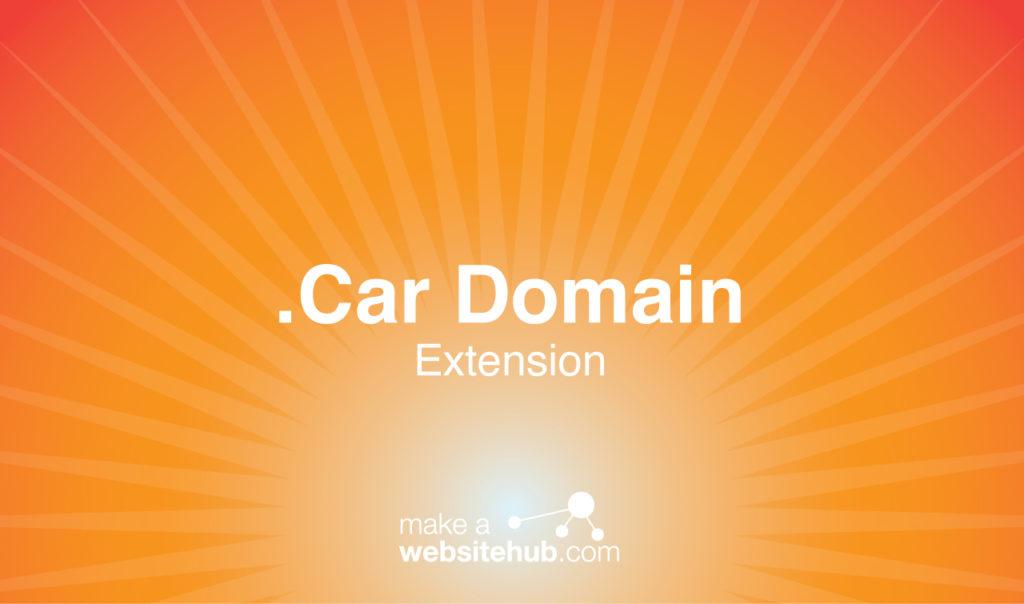 .car domain name extension