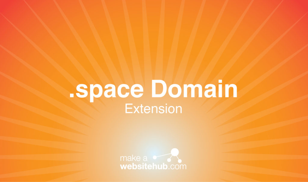 dot space domain name