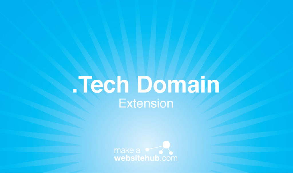 .tech domain name