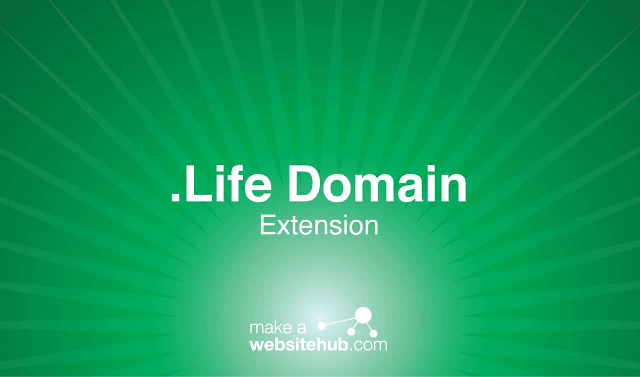 .life domain name extension